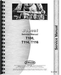 bobcat t skid steer loader service manual bobcat t116 skid steer loader service manual htbc st108