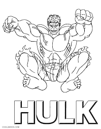 hulk coloring page 3
