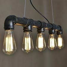 diy pipe chandelier copper lighting industrial plumbing pipe light fixture chandelier by on home design diy