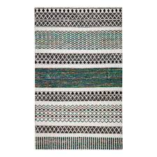 anji mountain durga hand loomed multi colored 5 ft x 8 ft