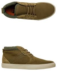 Reef Outhaul Mens Trainer Olive Shoes Trainers Reef