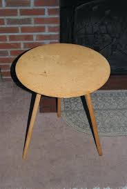 round particle board decorator table lovely imagine with medium 30 inch deco