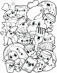 Cute diy printable kawaii style coloring pages! Cute Food Coloring Pages For Kids Cute Coloring Pages Food Coloring Pages Tumblr Coloring Pages