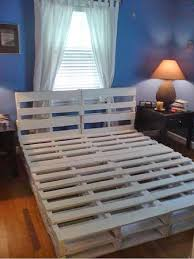 16 gorgeous diy bed frames tutorials including this diy pallet bed frame