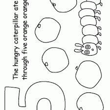Very Hungry Caterpillar Coloring Pages To And Print For Adult