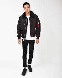 gallery men s lanvin er men s faux leather jackets