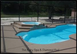 inground pools with waterfalls and hot tubs. Fiberglass Inground Spas Pools With Waterfalls And Hot Tubs 2