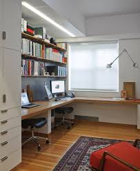 home office small shared. Diseño De Interiores \u0026 Arquitectura: 40 Ideas Para Diseñar Tu Oficina En Casa: | Pinterest Living Room Crafts, Crafts And Work Stations Home Office Small Shared E