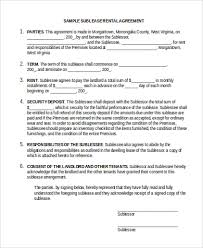 lease agreement sample rental agreement sample form 10 free documents in doc pdf