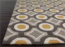popular interior yellow area rug 5x7 regarding home with