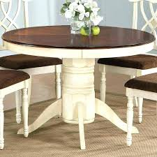 small kitchen table for 2 dining tables two tone or round pedestal wood sets