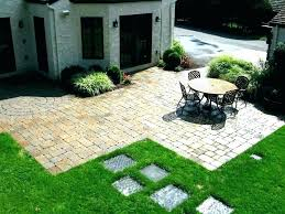patio estimate cost install brick average paver diy how much does it to build a labor