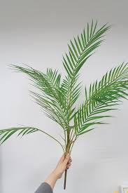 Home, Furniture & DIY <b>5</b> Pack <b>Palm Artificial Plants Leaves</b> ...