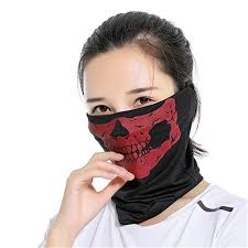 Men Women Fashion <b>Skull</b> Face <b>Mask Bicycle Ski</b> Ghost Scarf ...