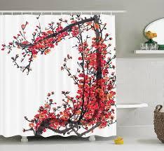 polyester fabric bathroom shower