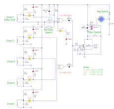 5 zone alarm system Alarm Panel Circuit Diagram Alarm Panel Circuit Diagram #53 wireless alarm system circuit diagram