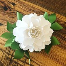 Paper Flower Bouquet Etsy Easy Diy Paper Roses Paper Rose Template And Tutorial Paper Rose Pattern Paper Flower Bouquet Svg Cutting Files