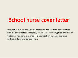 Collection Of Solutions Sample Application Letter For School Nurse