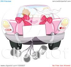 car driving away clip art. Delighful Car Clipart Just Married Bride And Groom Driving Away In A Pink Car With Sign  Cans  Royalty Free Vector Illustration By Yayayoyo Intended Clip Art T