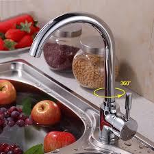 Wasserhahn Mischbatterie Küche Heiß Und Kalt Kupfer Drehbar Sinken