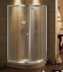 maax 36 x 36 talen 1 4 frameless glass neo round sliding