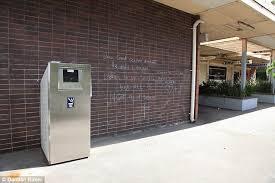 Needle Syringe Vending Machines Sydney Mesmerizing Sharpsville' The Suburb Where 'discreet' Syringe Disposal Bins The