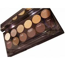 sleek makeup i divide paleta cieni do powiek kolor au naturel