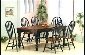 solid oak dining room chairs black wood dining set medium size of dinning dining set 8