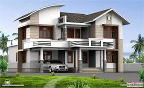 Modern 4 Bedroom House Plans February 2013 Kerala Home Design And Floor Plans