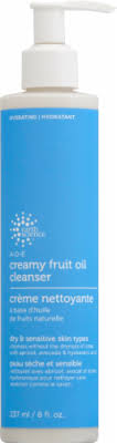 Earth Science A-D-E Creamy Fruit Oil Cleanser, 8 fl  - Baker's
