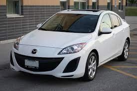 2011 White Mazda Mazda3 Gs With Moonroof Amp Leather Luxury Pkg 17 295 Redflagdeals Com Mazda Mazda3 Mazda 3 White Mazda
