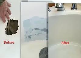 bathtub fiberglass repair tub surround resurfacing and refi