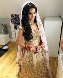 the beautiful rohini on her wedding day makeup by pkblondon outfit by shyamalbhumika