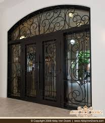 wrought iron front doorsCustom Entry Doors  Door  Made  Wrought  Iron  Exterior  Design