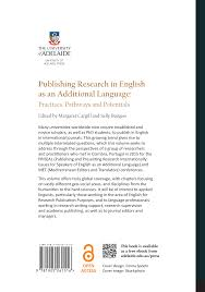 Publishing Research In English As An Additional Language Practices
