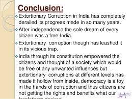 on corruption essay on corruption