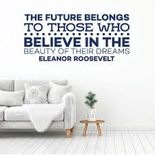 Amazoncom Eleanor Roosevelt Quote Inspirational Wall Decal