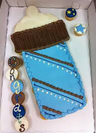 Baby Boy Bottle Cupcake Cake Cakecentralcom