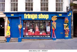 edinburgh fringe festival box office. the edinburgh festival fringe shop and box office scotland stock image s