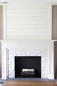 how to diy a fake fireplace or dress up the real one you already have