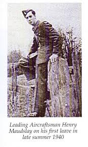 Squadron Leader Henry Maudslay DFC
