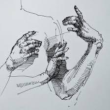 Inktoberhands Sketchbook Drawing Illustration Art Instaart