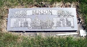 Alva Henry Benson (1881-1936) - Find A Grave Memorial