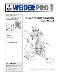 Weider Pro 4850 Exercise Chart 9 Appealing Weider Pro 4850 Home Gym Ideas Image At Home