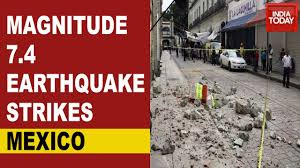 Usgs earthquake hazards program, responsible for monitoring, reporting, and researching earthquakes and earthquake hazards. Mexico Earthquake A 7 4 Magnitude Earthquake Hits Southern Mexico Initial Tsunami Alert Dropped Youtube