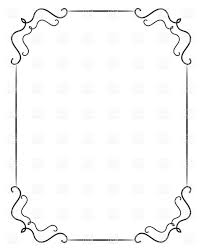 simple frame border. Simple Vintage Vertical Frame Royalty Free Vector Clip Art Border