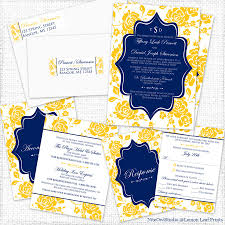 party simplicity yellow navy blue peony wedding invitation set Wedding Invitations Navy And Yellow navy yellow white peony floral wedding invitation set navy blue and yellow wedding invitations
