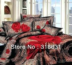 animal print sheet sets bed bedding pink leopard and curtains cheetah comforter with curtai