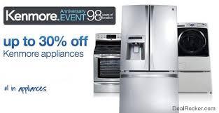 kenmore appliances. sears discount event kenmore appliances e