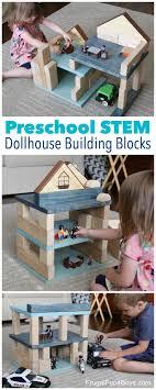 Make Your Own Dollhouse Building Blocks Set